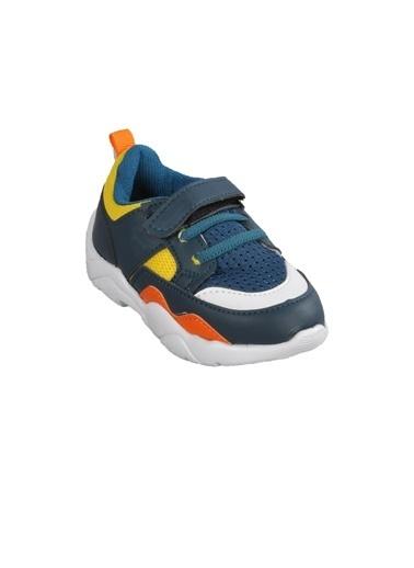 Cool 20-S19 Saks-Füme Çocuk Spor Ayakkabı Petrol